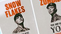 Do Army 'snowflakes' posters work?