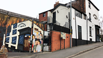 The pub where real ale and art collide
