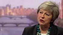 Prime Minister on Brexit vote and her political future