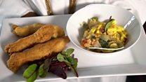 وجبات عالمية: الآكي والسمك المملح