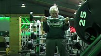 Still pumping iron at 87 years old
