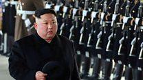Kim Jong-un takes train to China
