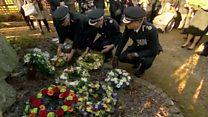 Wreaths laid for Kegworth air crash dead