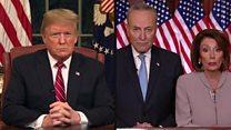 ماهو الخلاف بين ترامب والديمقراطيين؟