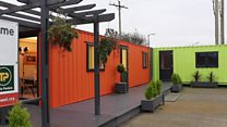 Shipping containers as affordable housing