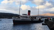 Maid of the Loch slips back into water