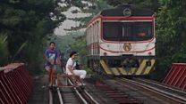 World's most dangerous commute?