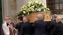 Hundreds at murdered backpacker's funeral
