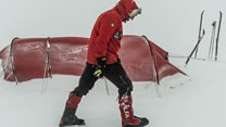 Antarctic trek had 'a few hairy moments'