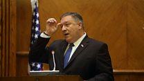پمپئو: فشارهای اقتصادی علیه ایران ادامه مییابد