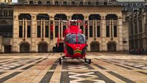 In the air with London's Air Ambulance