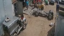 Stolen Land Rovers stripped for their parts