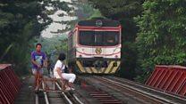"""راه آهن غیررسمی """"فیلیپینها"""""""