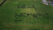 Student tribute for organ donor pupil