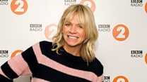 Zoe Ball on Breakfast Show first song