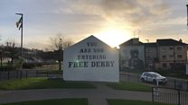 The 50th anniversary of Free Derry Corner