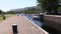 Caledonian Canal closes for repairs