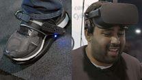 VR shoes: 'I feel totally knackered'