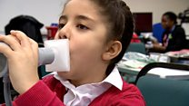 Do low emission schemes improve children's lungs?