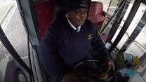 From homeless to London's happiest bus driver