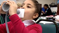 Air pollution tests for children