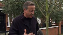 Cameron: I don't regret calling referendum