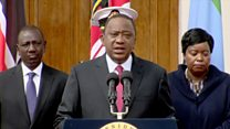 Kenya president: The country is grieving