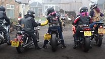 Female bikers raise funds for charity