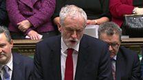 Corbyn: 'Remove prospect of catastrophe'