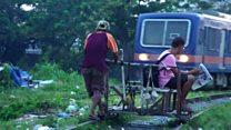 Ilegal e mortal: o serviço de transporte assustador nas Filipinas