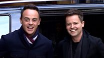 Ant returns to work with Dec