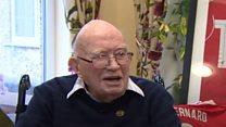 Liverpool fan celebrates 104th birthday after Klopp invite
