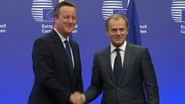 Tusk: Cameron told me 'no risk of referendum'