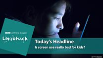 Lingohack - урок англійської про шкоду екранів