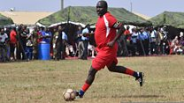 Liberia's footballing leader: A year in power