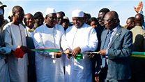 Inauguration du pont de la Sénégambie
