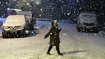 Snowy pictures from around the UK