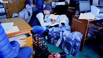 जफत गरिएका मदिराका बोतलहरू