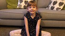Girl, 5, raises alarm after mum's fall