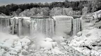 Niagara Falls becomes a 'winter wonderland'