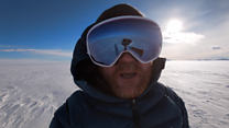 South Pole trek: Alone for 39 days
