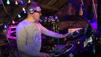 The deaf DJ who feels the beats