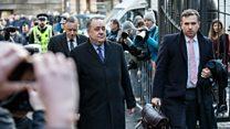 Alex Salmond arrives at court