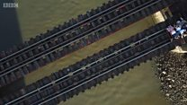 منیلا کی خطرناک ریل سروس