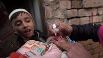 तालिबानी ख़तरे के बीच पोलियो अभियान