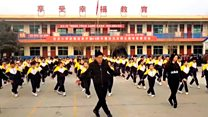 Chinese students' viral 'shuffle' dance