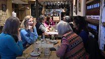 Inside London's 'loneliness café'