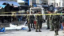 Deadly bomb attack on Philippines cathedral