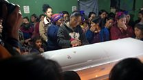 """Funeral del niño migrante guatemalteco Felipe Gómez Alonzo: """"Duele que su muerte haya sido así, sin despedirse"""""""