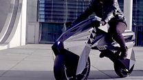 The 3D-printed electric motorbike